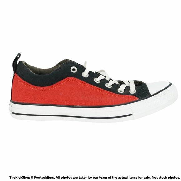 CONVERSE CT TORQUE OX RED BLACK 144647C MEN'S SNEAKERS
